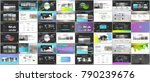 big bundle of clean and minimal ... | Shutterstock .eps vector #790239676