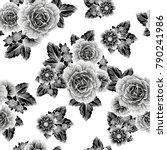 abstract elegance seamless... | Shutterstock .eps vector #790241986