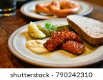 germany food  germany cuisine ... | Shutterstock . vector #790242310