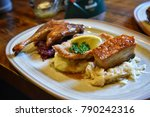 germany food  germany cuisine ... | Shutterstock . vector #790242316