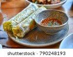 thailand food  thailand cuisine ... | Shutterstock . vector #790248193