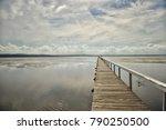 long jetty  newcastle  nsw ...   Shutterstock . vector #790250500