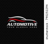 automotive  auto  car logo... | Shutterstock .eps vector #790252294