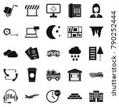 director icons set. simple set... | Shutterstock .eps vector #790252444