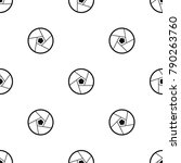 photographic lens pattern...   Shutterstock .eps vector #790263760