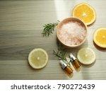 natural cosmetic skincare serum ... | Shutterstock . vector #790272439