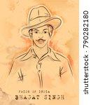 illustration of vintage india...   Shutterstock .eps vector #790282180