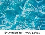 water waves background | Shutterstock . vector #790313488