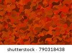 dark purple vector blurry... | Shutterstock .eps vector #790318438