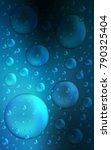 dark blue vertical background... | Shutterstock . vector #790325404
