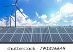 new energy  such as... | Shutterstock . vector #790326649