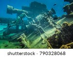 san andres island  colombia _... | Shutterstock . vector #790328068