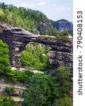 national park bohemian... | Shutterstock . vector #790408153