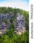 national park bohemian... | Shutterstock . vector #790410253