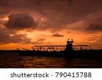 logistics and transportation of ... | Shutterstock . vector #790415788