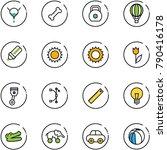 line vector icon set   bladder...