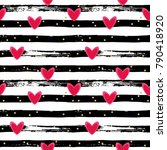 seamless vector pattern with... | Shutterstock .eps vector #790418920