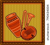 vector design of congo and...   Shutterstock .eps vector #790434004