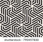 vector seamless pattern. modern ... | Shutterstock .eps vector #790457830