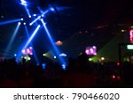 abstrat blur concert light ... | Shutterstock . vector #790466020