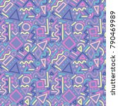 seamless abstract pattern with... | Shutterstock .eps vector #790469989