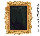 vintage golden ornate florid... | Shutterstock .eps vector #790479304