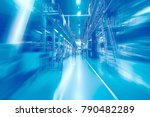 industrial technological blurry ...   Shutterstock . vector #790482289