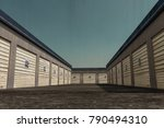 3d illustration of self storage ... | Shutterstock . vector #790494310