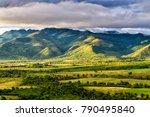 valle de los ingenios  valley... | Shutterstock . vector #790495840