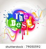 color background. vector... | Shutterstock .eps vector #79050592