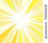 hot and glittering summer sun ... | Shutterstock .eps vector #790506439