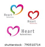 love logo vector template | Shutterstock .eps vector #790510714