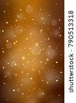 dark orange vertical template... | Shutterstock . vector #790513318
