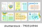 brochure creative design.... | Shutterstock .eps vector #790514944