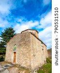 the very old small church of... | Shutterstock . vector #790531510