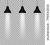pendant lamp ray light   Shutterstock .eps vector #790531810