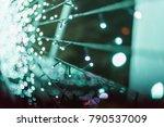 abstract light bokeh background   Shutterstock . vector #790537009