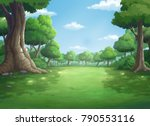 illustration of a tree and...   Shutterstock . vector #790553116