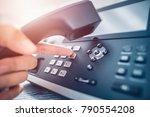 communication support  call... | Shutterstock . vector #790554208