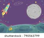 background illustration of... | Shutterstock .eps vector #790563799