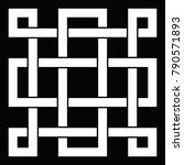 oriental knot vector...   Shutterstock .eps vector #790571893