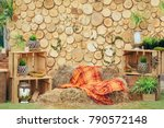 Wooden Background Photozone...