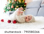 Little Baby Boy In White...