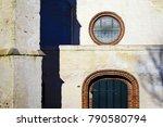 datail of andreaskerk  st.... | Shutterstock . vector #790580794