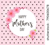 banner for the mother's day....   Shutterstock .eps vector #790600678