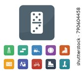 activity icons. vector... | Shutterstock .eps vector #790604458
