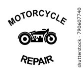 motorcycle logo for racers | Shutterstock .eps vector #790607740