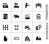 car icons. vector collection...