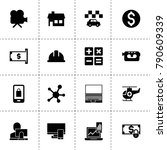 internet icons. vector...