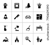 art icons. vector collection...
